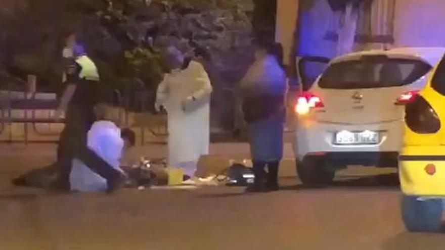 Un joven apuñala a su padre de noche en una calle de Tarazona