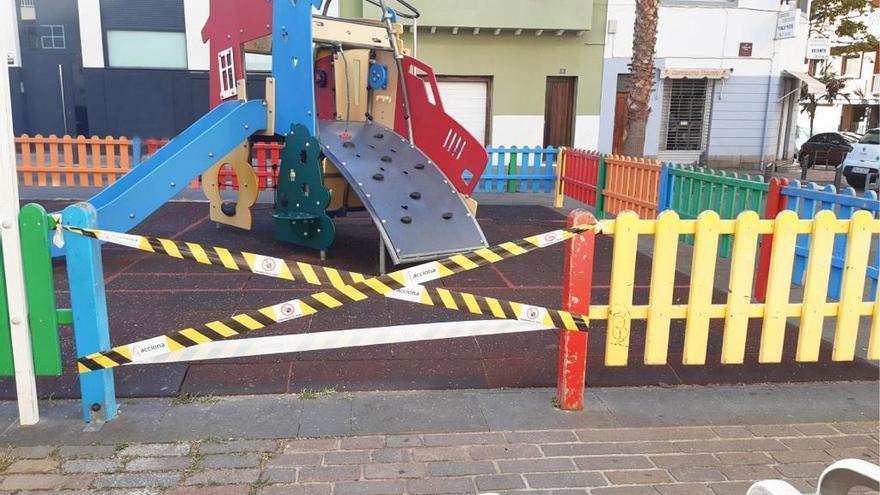 Santa Cruz reabre los parques infantiles