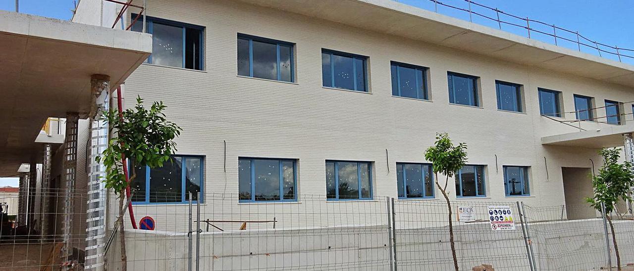 La Xara estrenará su nuevo colegio en diciembre tras 11 años de espera