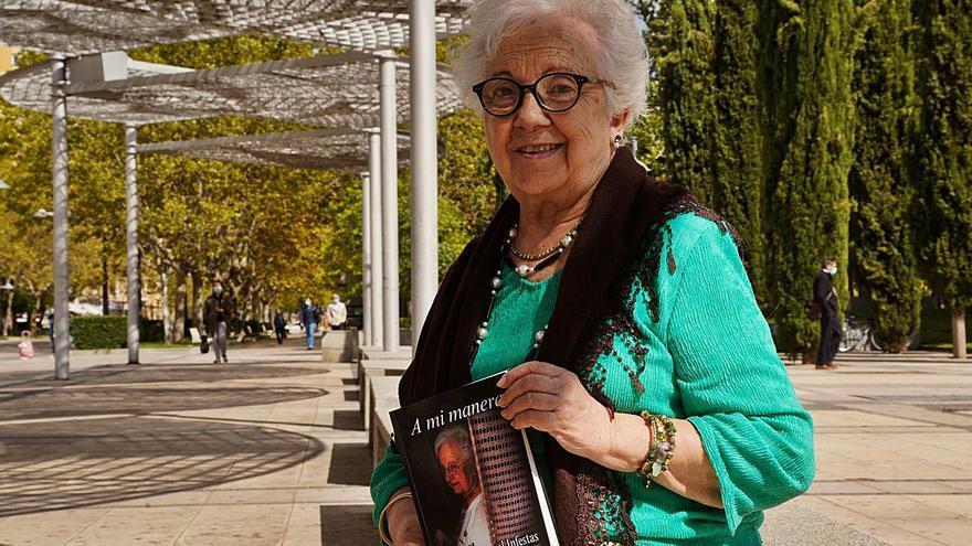 El último libro de Marifé Pascual tiene como objetivo recaudar fondos para Cáritas