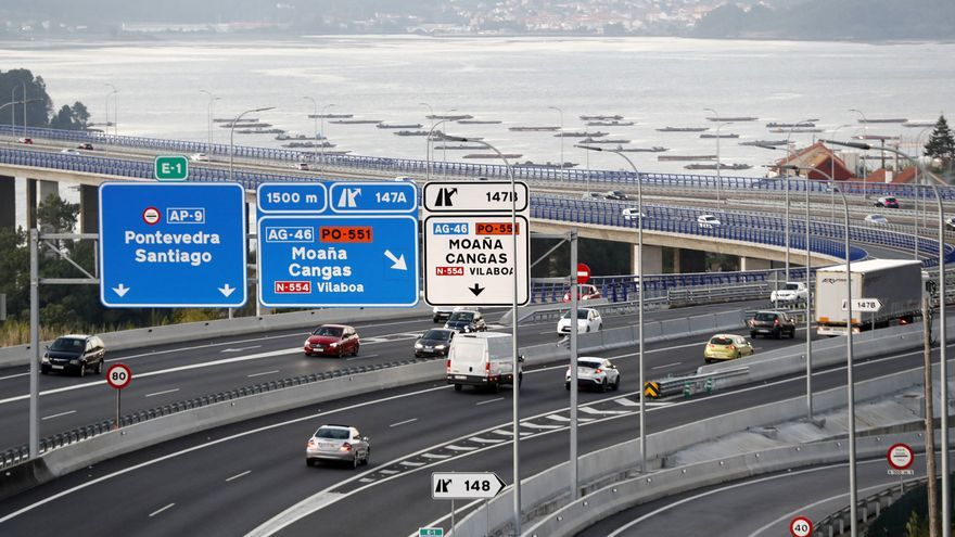 Rebaja de hasta 9,5 euros por viaje de ida y vuelta en la AP-9 entre Vigo y Santiago