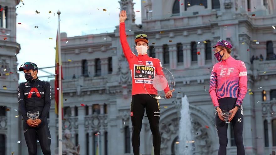 Primoz Roglic gana una Vuelta sitiada por la pandemia