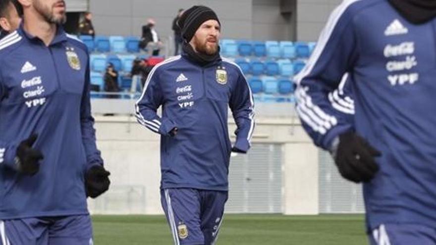 Messi no jugarà el partit amistós contra Espanya