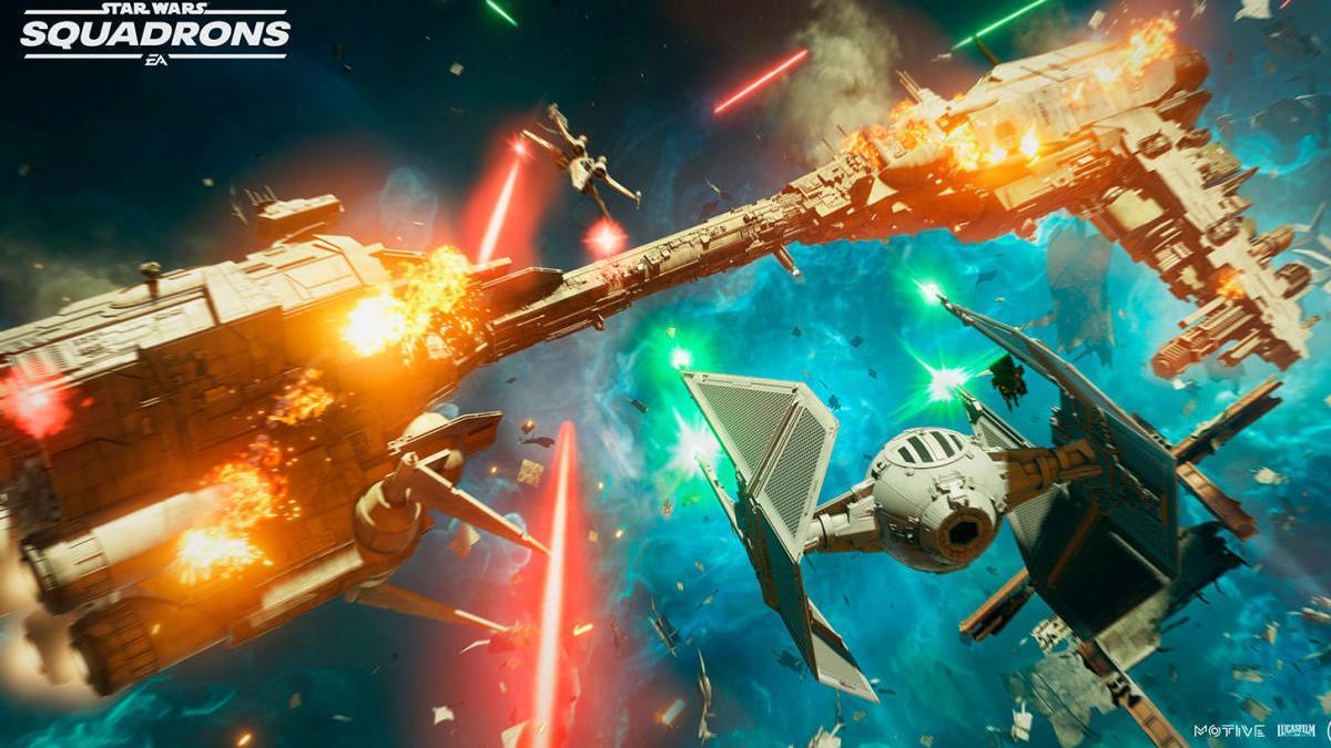 Star Wars: Squadrons presenta un espectacular tráiler de su modo historia.