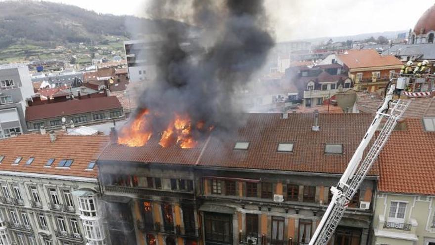La jueza rechaza indemnizar a la familia del bombero fallecido en Uría