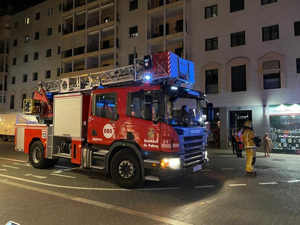 Incendio en la cocina del Burger King de Plaza de España