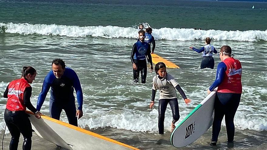 Nigrán, epicentro do surf adaptado