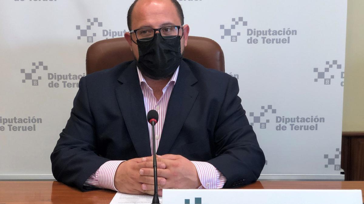 El vicepresidente de la DPT, Alberto Izquierdo
