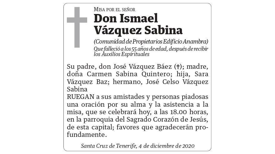 Ismael Vázquez Sabina