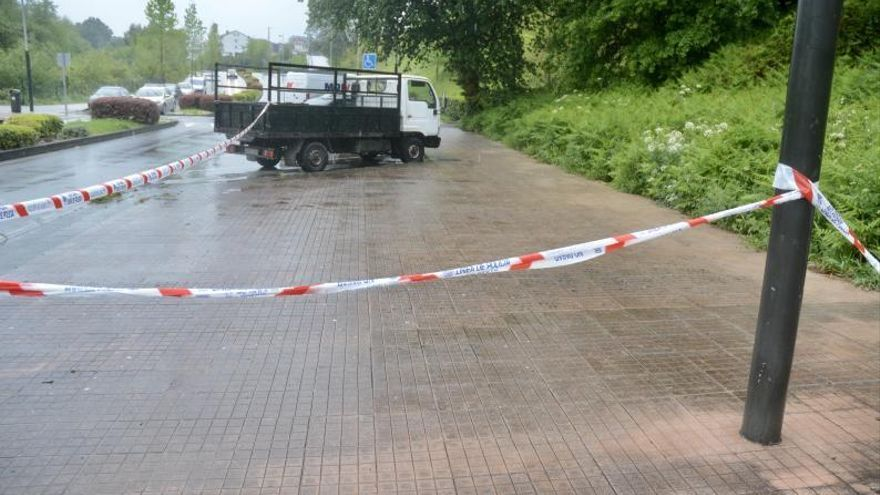 Investigan la aparición de un hombre con una herida de bala en la cabeza en Pontevedra