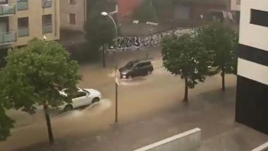 Prealerta per tempestes i calamarsades a Catalunya aquest diumenge a la nit