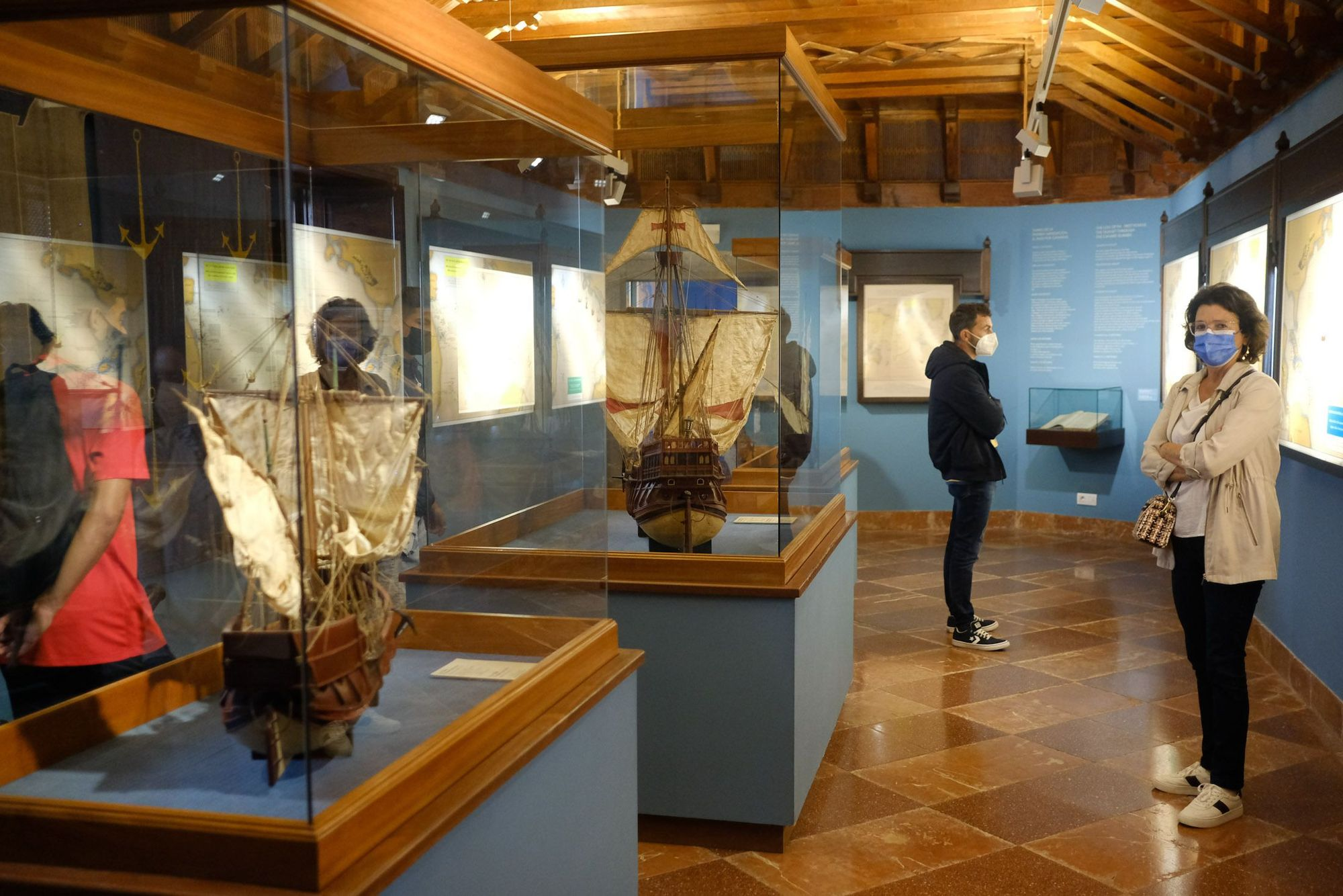 Día Internacional de los Museos en la Casa Colón, el CAAM y el museo americanista (18/05/2021)