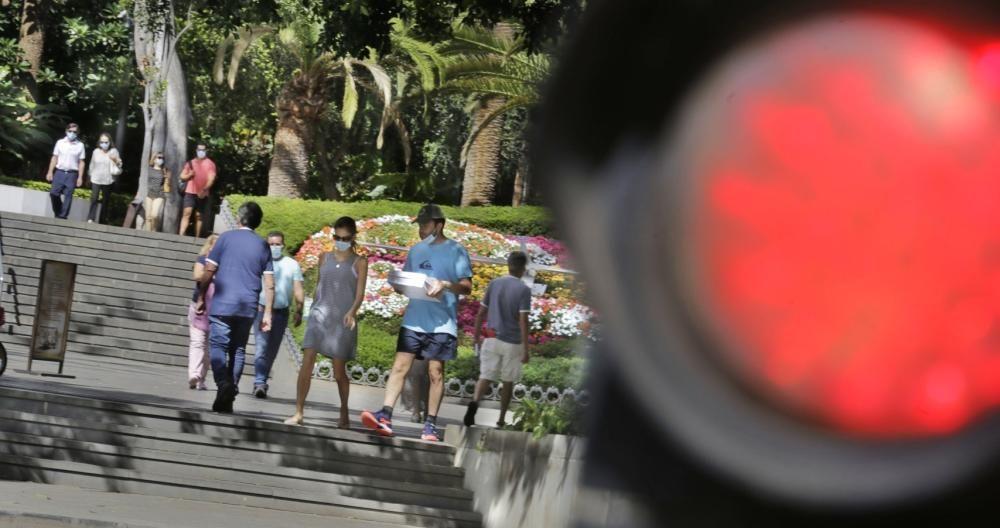 Situación de semáforo Rojo por incidencia de covid en Tenerife.