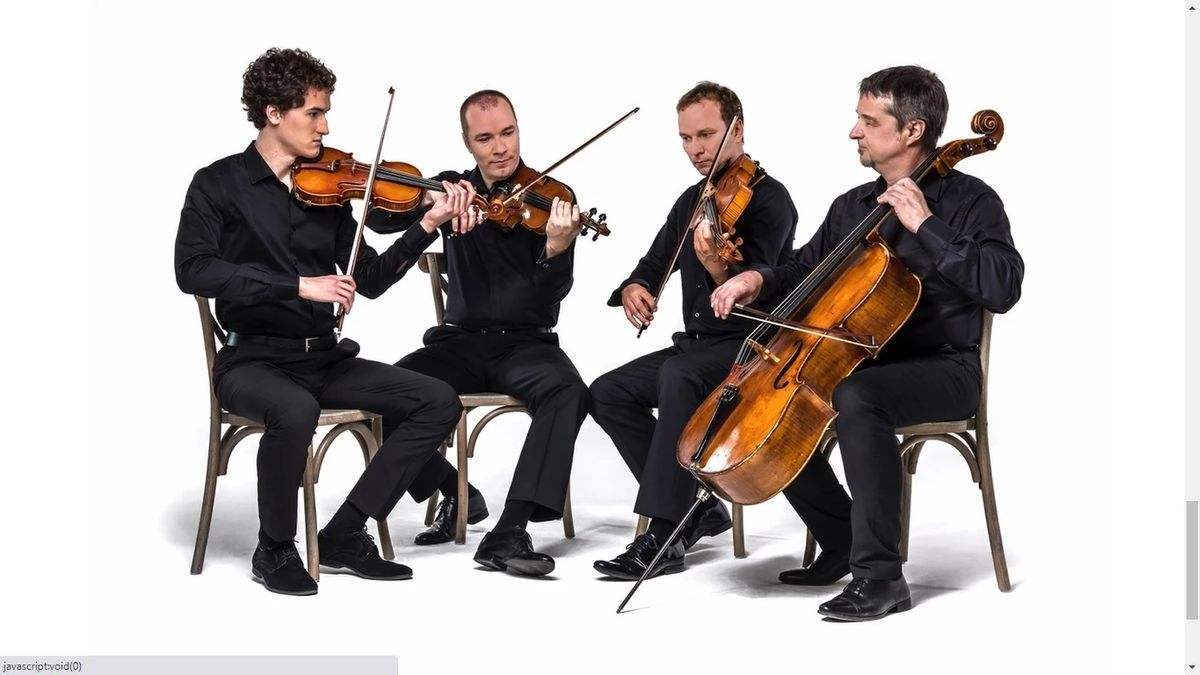 The Zagreb Quartet, one of the guests of the inaugural concert of the Philharmonic Society
