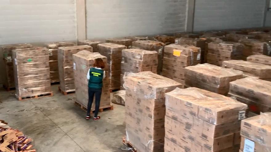 Intervienen 176 toneladas de alimentos a la Fundación Amigos de Galicia