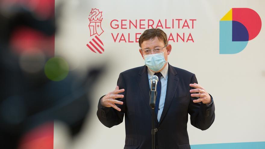 Puig se compromete a compensar el recorte de inversiones en Alicante con los 300 millones que gestionará directamente el Consell