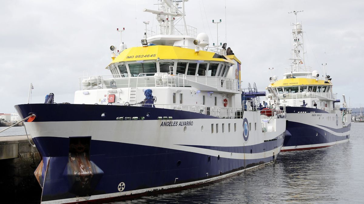 El buque oceanográfico 'Angeles Alvariño'