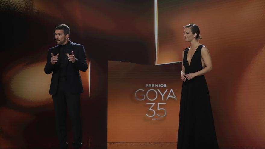 La audiencia no respalda los Goya de Antonio Banderas y María Casado