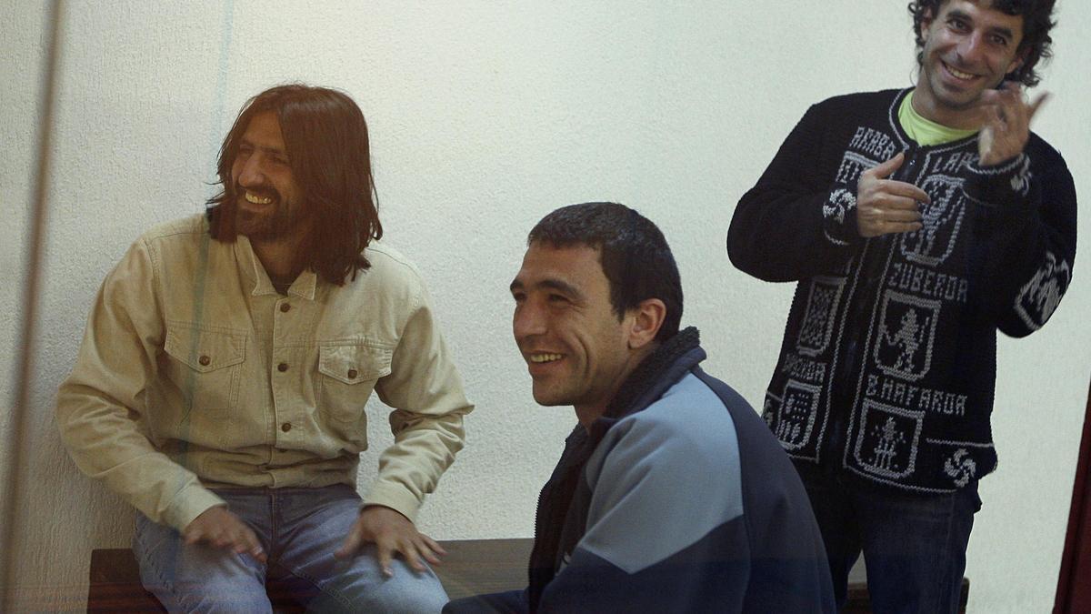 "Integrantes del ""comando Donosti"" de ETA, entre ellos, González Sola."