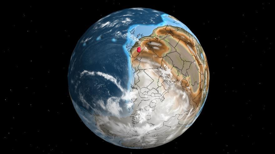 Dónde estaba Castellón hace 600 millones de años