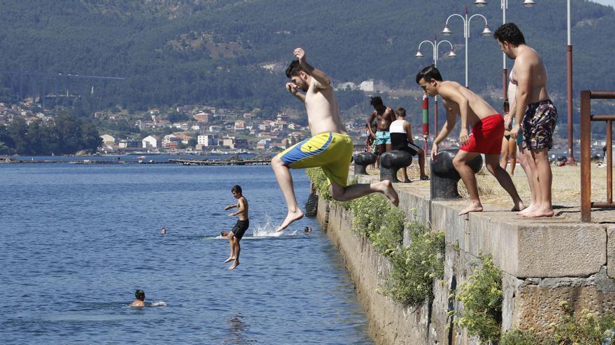 Cinco planes refrescantes en Galicia para combatir el calor