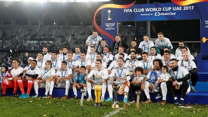 El Madrid conquista el Mundial
