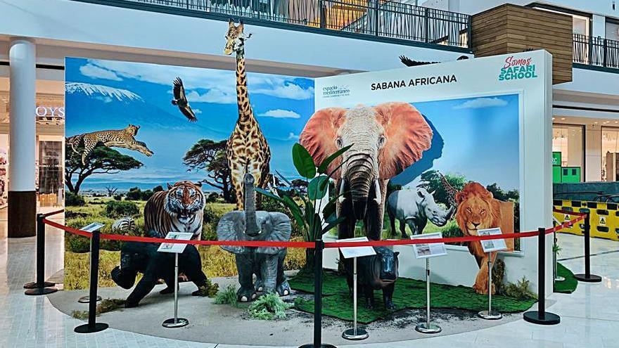 El centro comercial Espacio Mediterráneo se va de safari