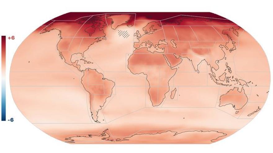 Los cinco posibles futuros de la crisis climática