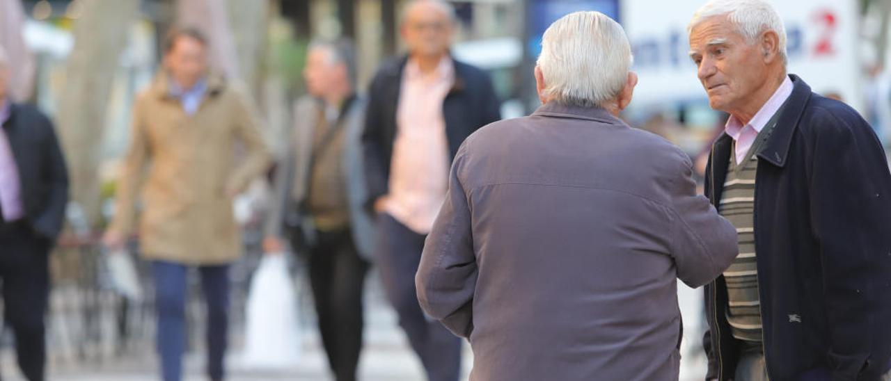 El número de mayores de 65 años alcanza su máximo histórico en la comarca