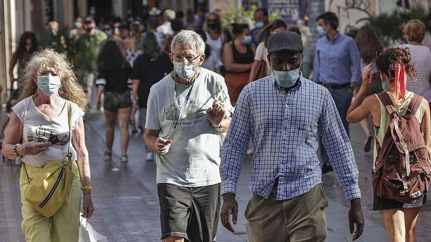 Wie die Pandemie den Betrieb in Palmas Fußgängerzone verändert