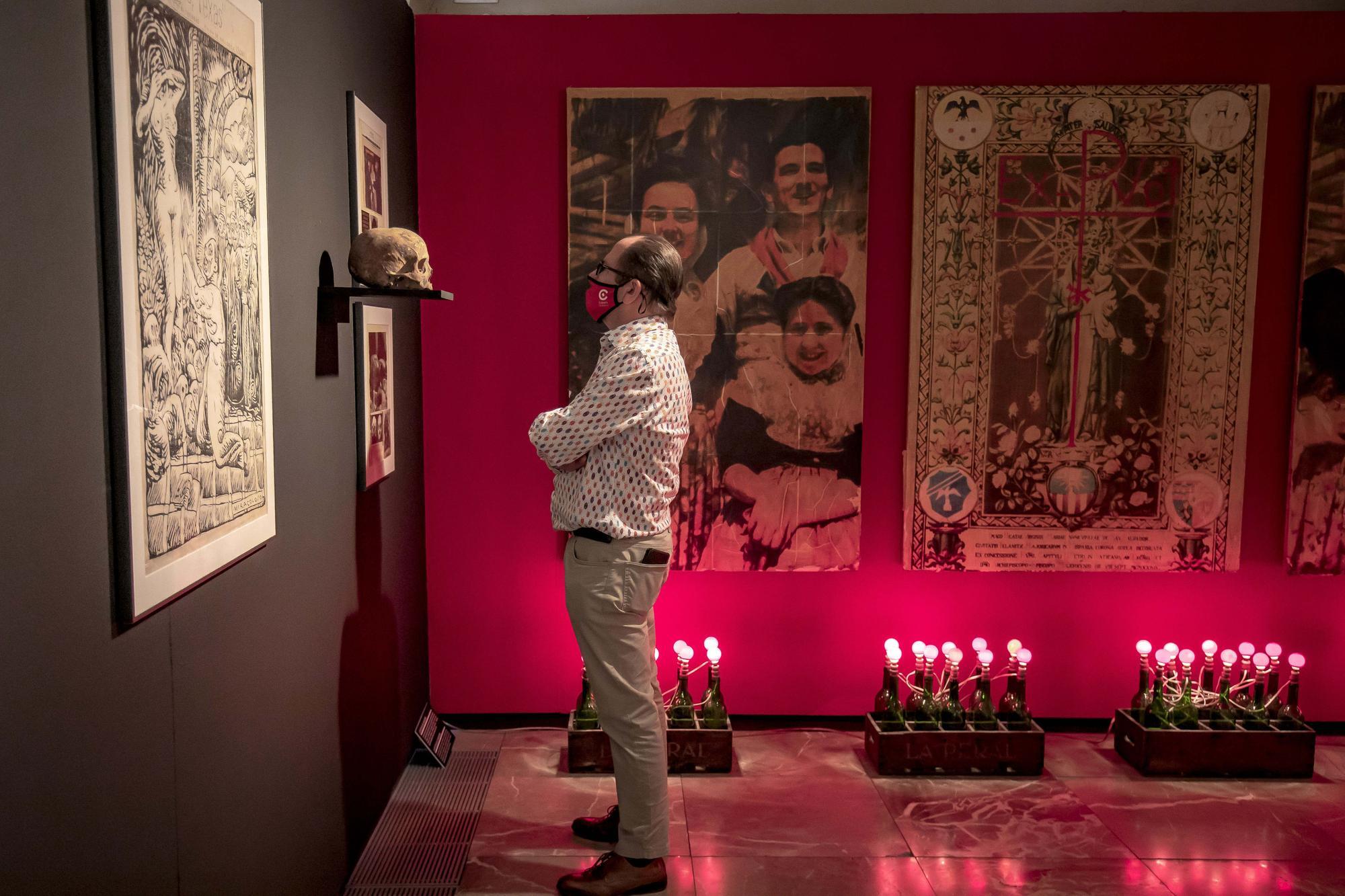 Exposición en La Misericòrdia del mítico bar París, Texas de Palma