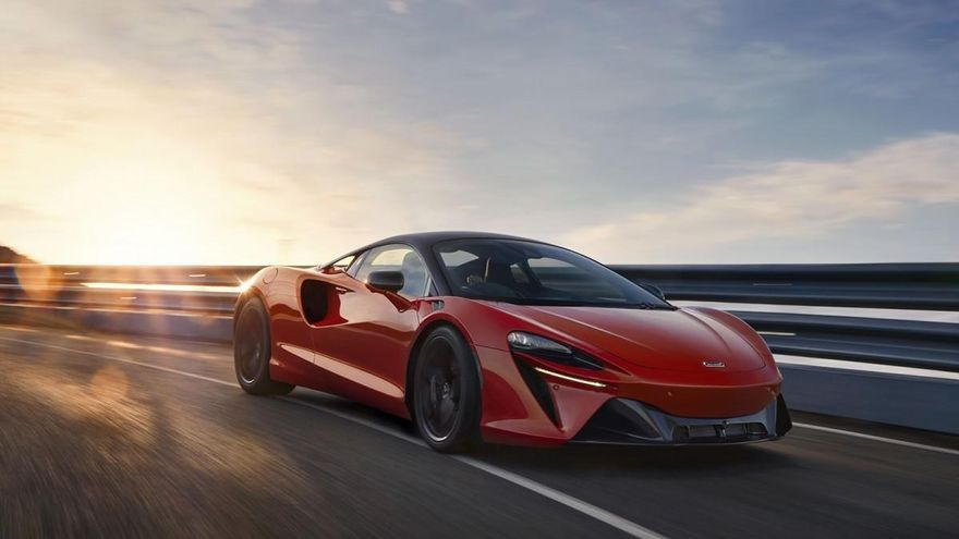 McLaren Artura, el superdeportivo ECO de 680 CV de potencia