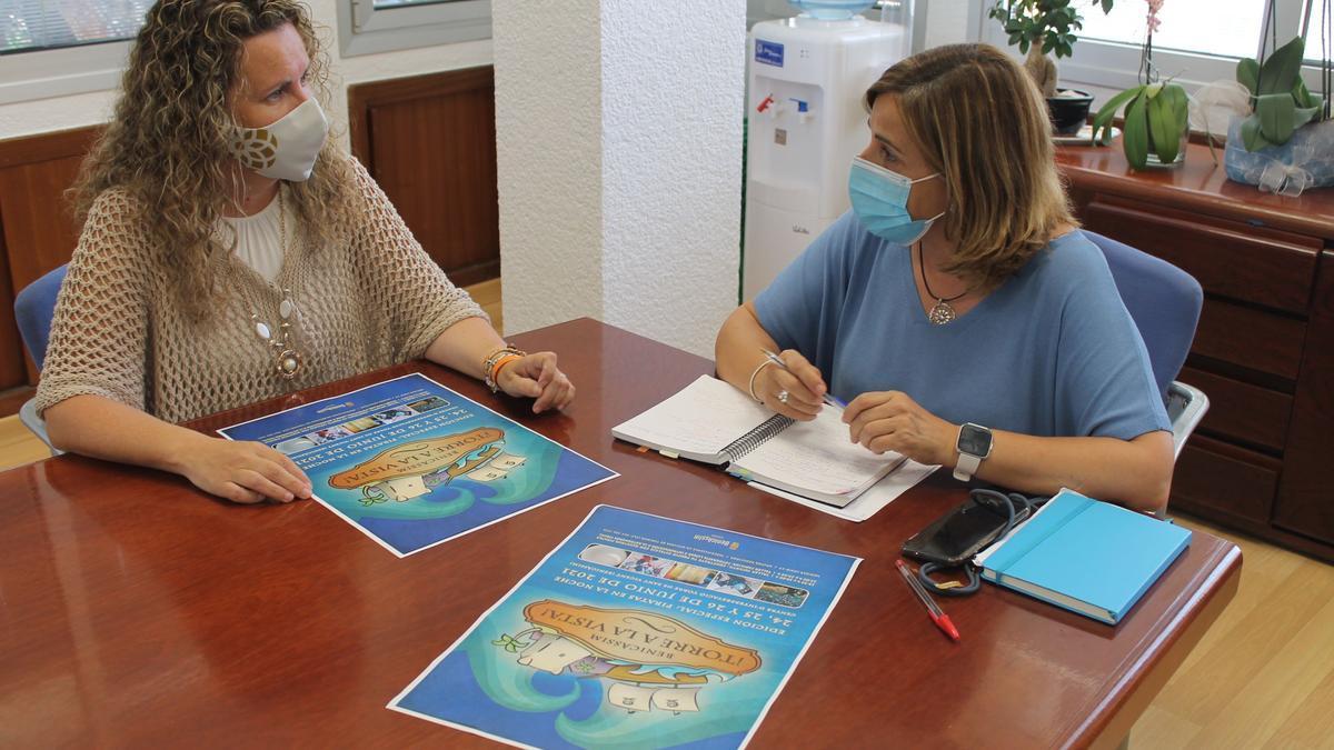 Cristina Fernández y Susana Márques, edila y alcaldesa de Benicàssim