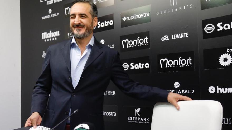 """Montesinos: """"Vamos a recuperar el alma del CD Castellón"""""""