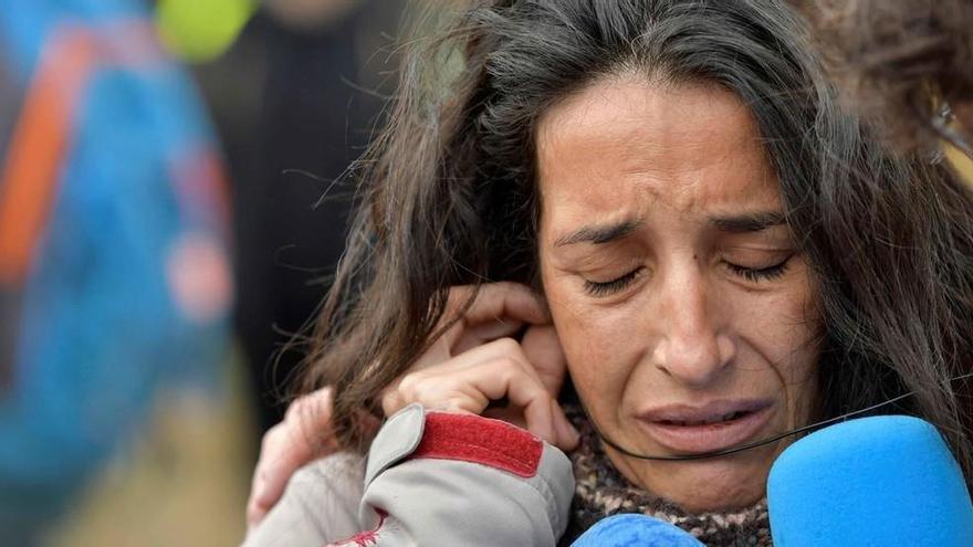 La madre de Gabriel Cruz se convierte en un ejemplo de respuesta emocional