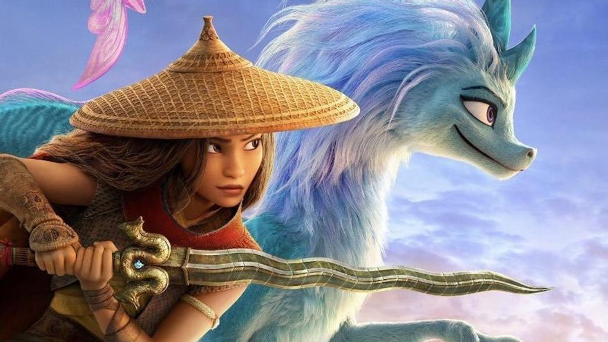 'Raya y el último dragón', primer gran estreno familiar desde Navidad
