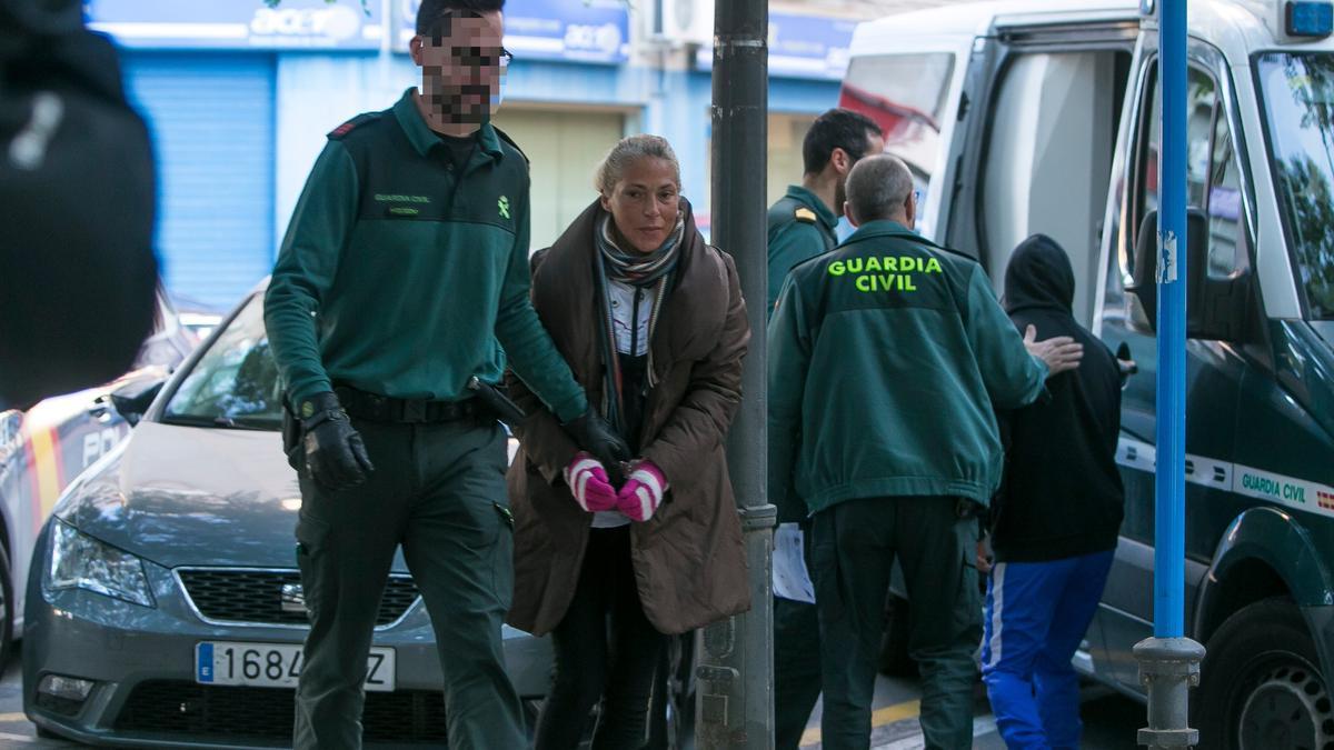 El juicio a la «viuda negra» de Alicante es uno de los que podrían estar afectados por la cuarentena en las dos cárceles de la provincia.