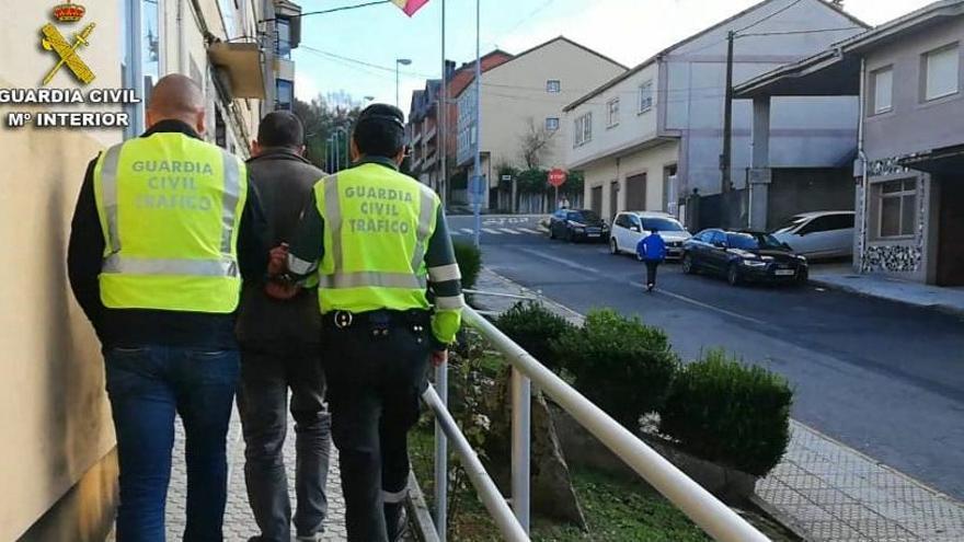Detienen a un lalinense como presunto autor del atropello de Alberto Vilariño