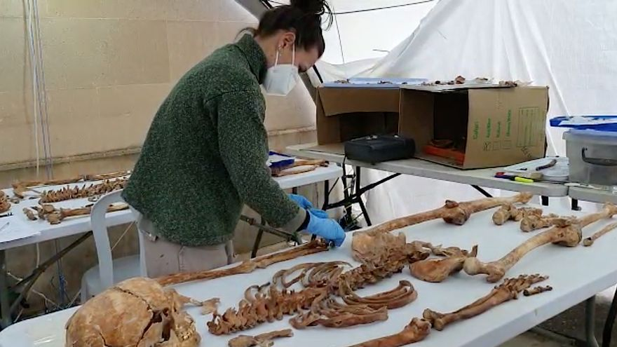 Los arqueólogos reconstruyen los últimos momentos de vida de las víctimas halladas en las fosas de Porreres
