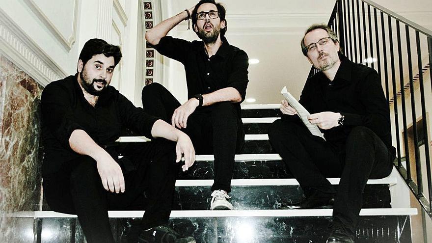 Jordi Gener, Lluís Barrera i David Martell traslladen al teatre «Repertori de saldo»