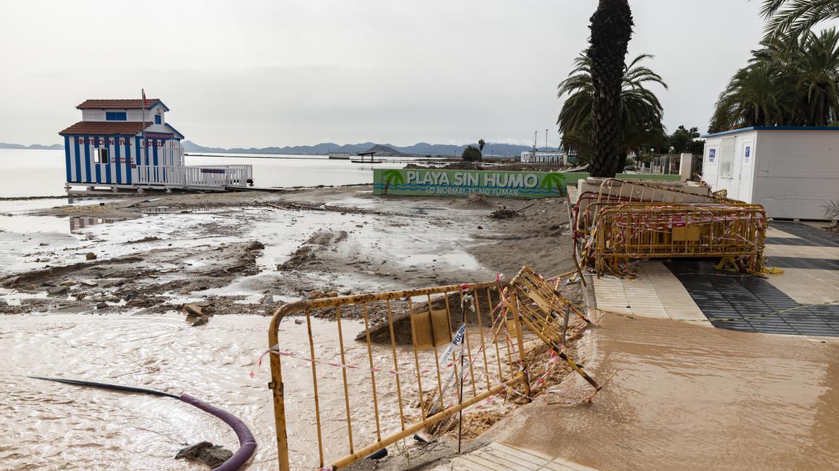 Inundaciones en 2019 en Los Alcázares