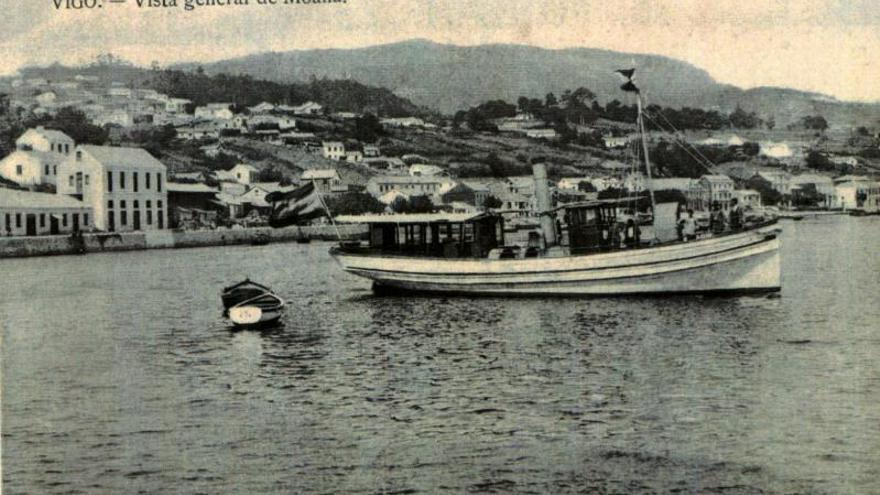 A gripe de 1918 en Moaña