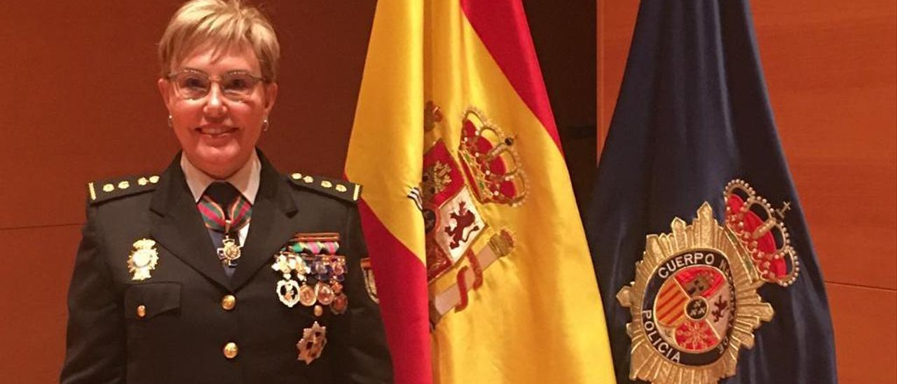 La comisaria de Alicante Marisol Conde, quien se perfila para dirigir la Policía Autonómica.