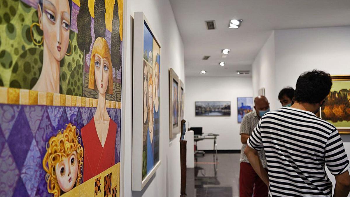Un agosto con mucho arte en la galería Espacio 36
