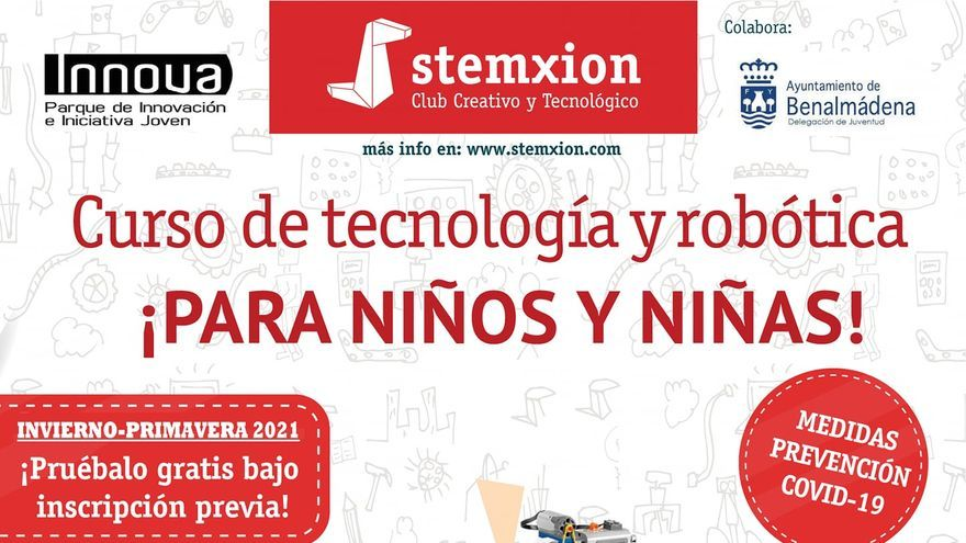 Curso de robótica educativa stemxion