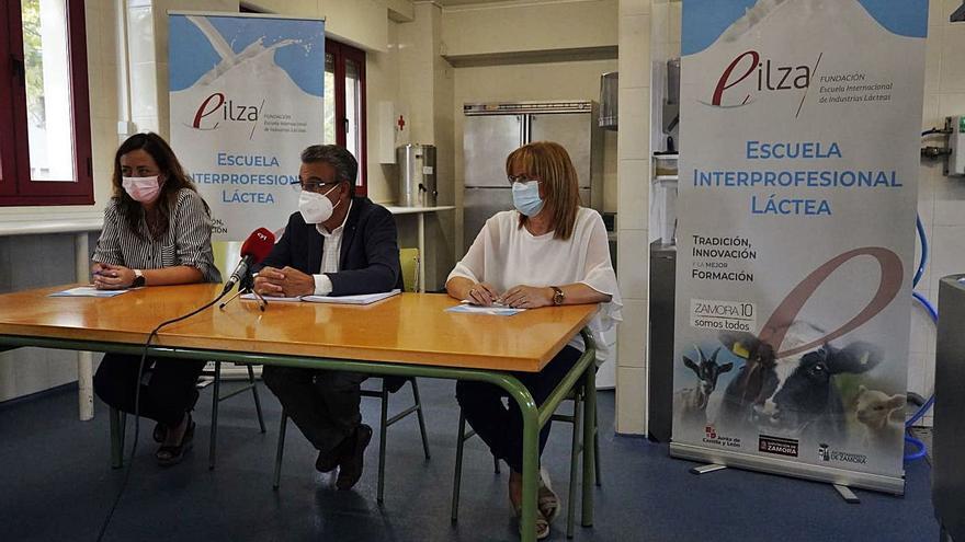 Hortensia Rodríguez será la nueva gerente de la Fundación Escuela de Industrias Lácteas de Zamora