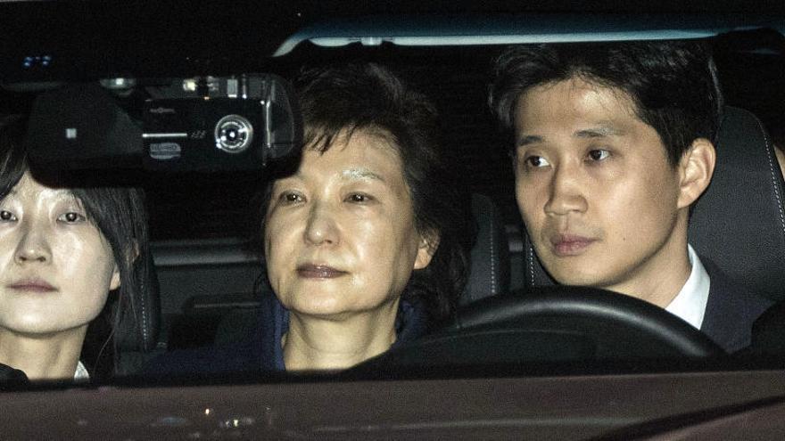 A prisión la presidenta de Corea del Sur por corrupción
