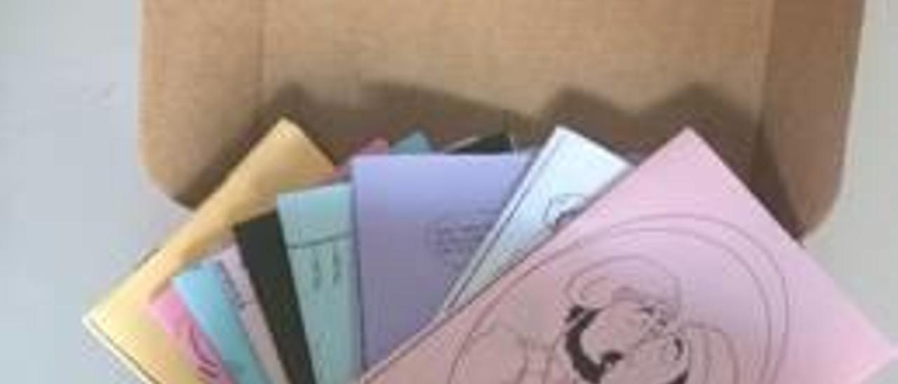 Un «llibret» en forma de caixa