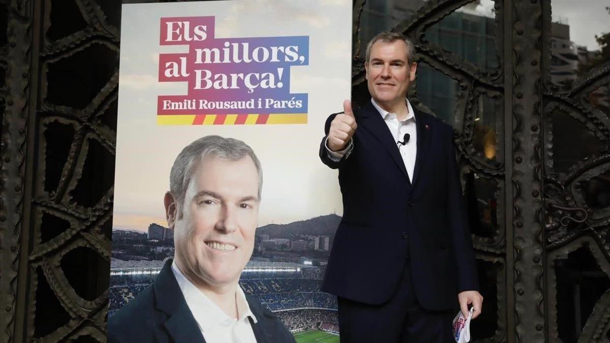 Minguella será vicepresidente deportivo del Barça si Rousaud gana las elecciones