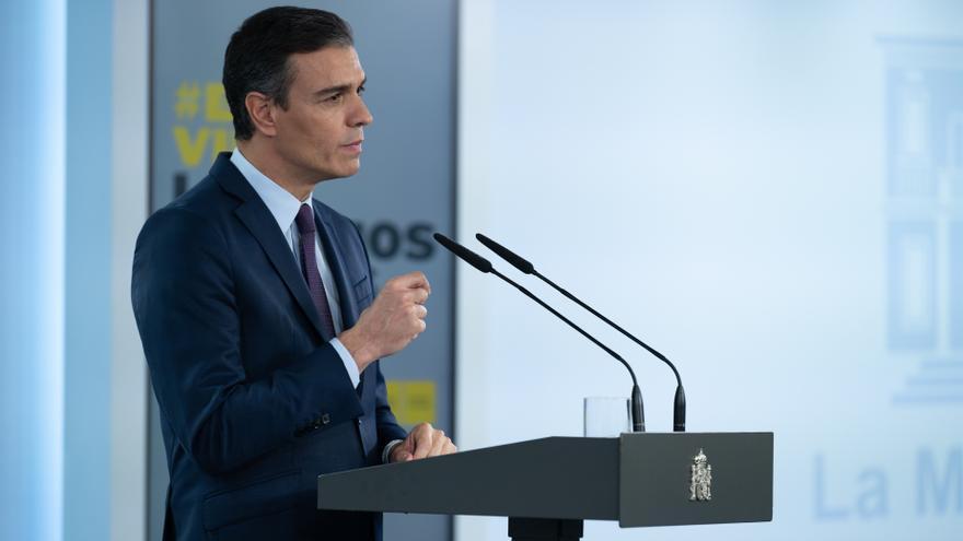 Sánchez anuncia que en junio llegará el doble de vacunas de Pfizer de lo previsto